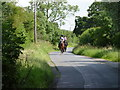 SO9766 : Riders on Coalash Lane, Woodgate, Worcestershire by Jeff Gogarty