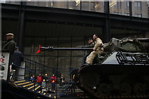 TQ3281 : View of a tank in the Lord Mayor's Parade from Gresham Street by Robert Lamb