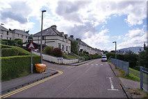 NN1073 : Alma Road, Fort William by Richard Dorrell