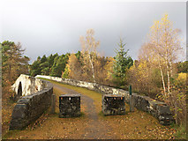 NH3962 : The old bridge, Little Garve by Julian Paren
