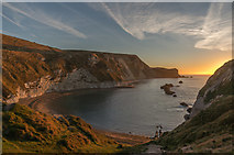 SY8080 : Man o'War Cove soon after sunrise by Ian Capper