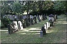 SP5206 : Headstones at the St Clements by Bill Nicholls