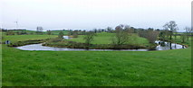 H5070 : Panoramic view of the Camowen River, Donaghanie by Kenneth  Allen