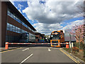 SP2766 : Volvo trucks, back of the offices, Wedgnock Industrial Estate, north Warwick by Robin Stott