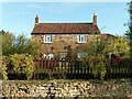 SK8524 : Hillcrest Farmhouse, Church Lane, Sproxton by Alan Murray-Rust