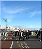 TQ3103 : Upper Esplanade, Brighton by Simon Carey