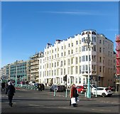 TQ3103 : Queens Hotel, Kings Road, Brighton by Simon Carey