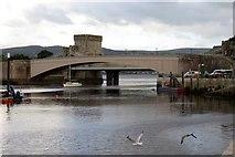SH7877 : Conwy Bridge by Steve Daniels