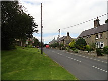NZ0759 : The village street in Hedley on the Hill by Robert Graham