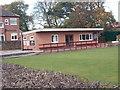 SE3154 : Bowls Pavilion - St Leonard's Oval by Betty Longbottom