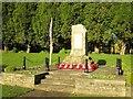 SE1565 : War  Memorial  Pateley  Bridge  Armistice  Day  2016  (2) by Martin Dawes