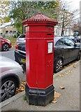 TQ3370 : Victorian postbox, Belvedere Road, SE19 by Stefan Czapski