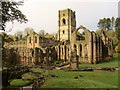 SE2768 : Fountains  Abbey  from  De  Grey's  Walk by Martin Dawes