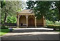 SE1338 : Shelter, Roberts Park, Saltaire by Julian Osley