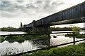 SK8379 : Torksey Viaduct by Julian P Guffogg