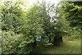 SP5206 : Sign in the Bush by Bill Nicholls