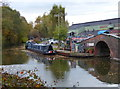 SO9784 : Narrowboats moored along the Dudley No.2 Canal by Mat Fascione