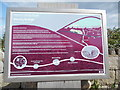 J3827 : Noticeboard at Bloody Bridge Car Park, Co Down by David Hillas