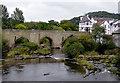 SJ2142 : Llangollen Bridge over the River Dee, Denbighshire by Roger  Kidd
