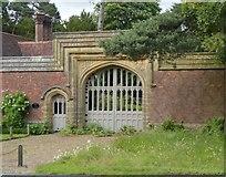 TQ5346 : Gateway, Penshurst Lodge by N Chadwick