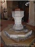TF5617 : Tilney All Saints Parish Church: font by Basher Eyre
