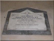 TF5617 : Tilney All Saints Parish Church: memorial (5) by Basher Eyre