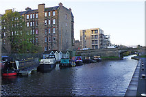 NT2472 : Union Canal, Fountainbridge by Stephen McKay