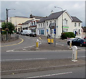 ST5393 : Junction of Mount Pleasant and Beaufort Square, Chepstow by Jaggery