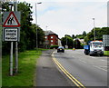 ST5393 : Warning sign - Elderly people/Henoed, Chepstow by Jaggery