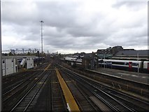 TQ2775 : Railway lines and structures, Clapham Junction station by David Smith
