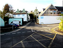 ST5393 : Junction at the edge of Chepstow town centre by Jaggery
