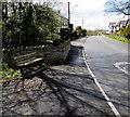 SN8101 : Roadside bench, Clyne by Jaggery
