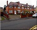 SO8962 : Row of three houses, Manning Road, Droitwich by Jaggery