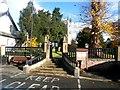 TA0129 : Churchyard Entrance in Kirk Ella by Jonathan Clitheroe