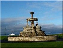 NS2059 : Makerston Public Fountain, Largs by Raibeart MacAoidh