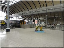 NZ2463 : Newcastle Central Station concourse by Graham Robson