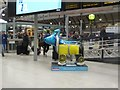 NZ2463 : Great North Snowdog Rocket Dog, Newcastle Central Station by Graham Robson