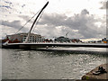 O1734 : Samuel Beckett Bridge, Dublin by David Dixon