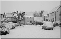 ST8180 : Hollybush Close, Acton Turville, Gloucestershire 2013 by Ray Bird