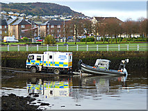 NS3274 : Marine Policing Unit at Port Glasgow by Thomas Nugent