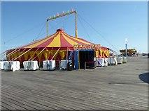 TQ8109 : Circus big top by Philip Halling