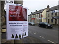 J1560 : Moira Christmas Tree Lights Switch On notice by Kenneth  Allen