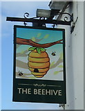 NY5228 : Sign for the Beehive Inn, Eamont Bridge by JThomas