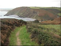 SX1899 : The South West Coast Path above Millook by Philip Halling