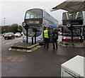 ST7182 : X46 and X49 buses in Yate bus station by Jaggery