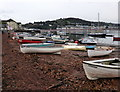 SX9372 : Boats at New Quay Taignmouth by PAUL FARMER