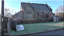SS8983 : Carey chapel Aberkenfig January 18th 2015 by Colin Prosser
