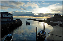 NO4102 : Lower Largo Harbour by Mary and Angus Hogg