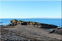 NS2515 : Rocks at Port Rorie, Dunure by Billy McCrorie