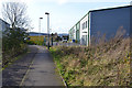 SP3163 : Shared path between Tachbrook Road and the Trident Business Centre, Whitnash by Robin Stott